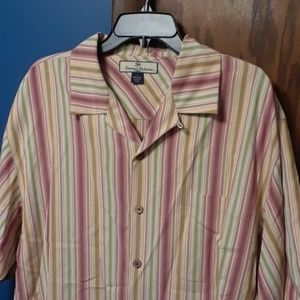 Tommy Bahama button down shirt L